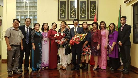 Cận cảnh Đại sứ Việt Nam trình Quốc thư lên Tổng thống Mozambique - Ảnh 5.
