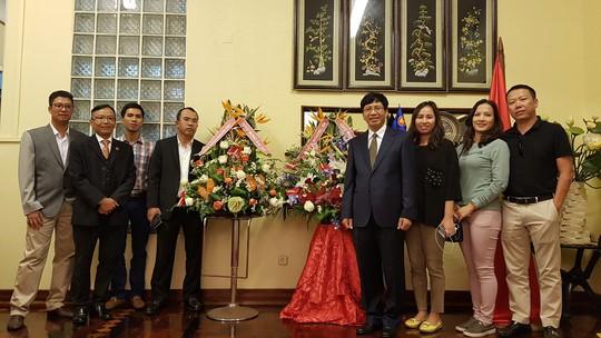 Cận cảnh Đại sứ Việt Nam trình Quốc thư lên Tổng thống Mozambique - Ảnh 6.