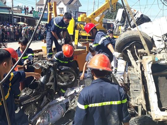 Vụ tai nạn thảm khốc khiến 5 người chết, xe tải không mất thắng - Ảnh 3.