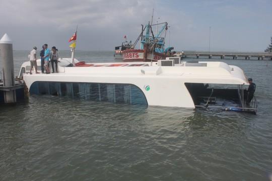 Công an nói gì về vụ chìm tàu cao tốc ở Cần Giờ? - Ảnh 1.
