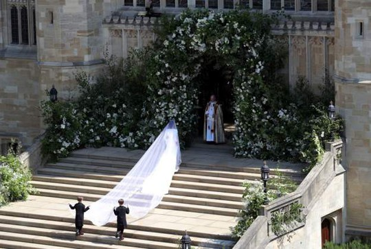Những khoảnh khắc khó quên của đám cưới hoàng gia Anh - Ảnh 12.