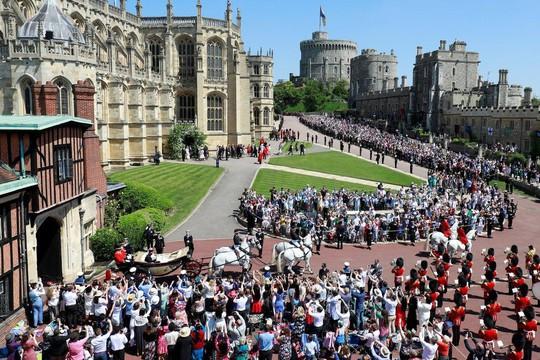 Những khoảnh khắc khó quên của đám cưới hoàng gia Anh - Ảnh 30.