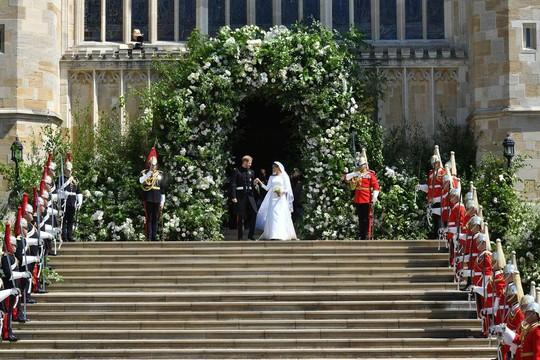 Những khoảnh khắc khó quên của đám cưới hoàng gia Anh - Ảnh 25.
