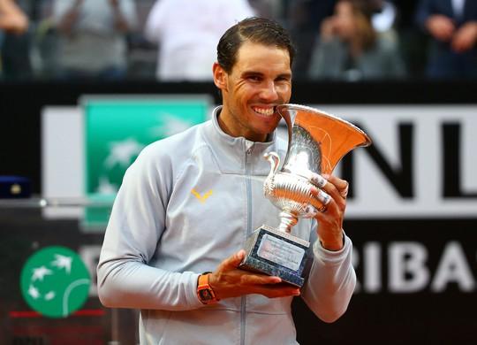 Vô địch Rome Open, Nadal giành lại ngôi số 1 thế giới - Ảnh 7.