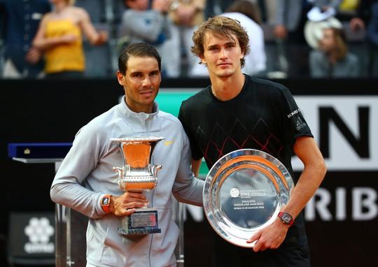 Vô địch Rome Open, Nadal giành lại ngôi số 1 thế giới - Ảnh 6.