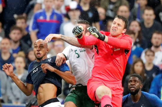 Vua bọ cạp lên tiếng, Pháp thắng Ireland ở Stade de France - Ảnh 2.