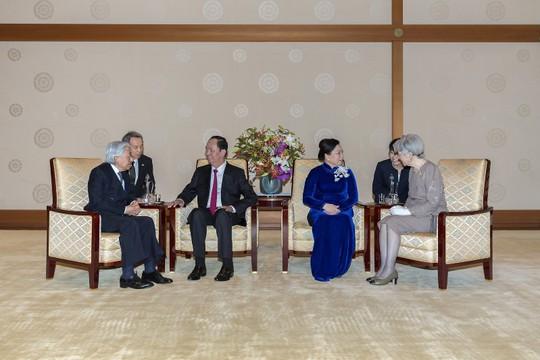 Điều đặc biệt khi Nhật hoàng chiêu đãi Chủ tịch nước Trần Đại Quang - Ảnh 1.