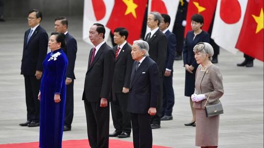 Điều đặc biệt khi Nhật hoàng chiêu đãi Chủ tịch nước Trần Đại Quang - Ảnh 2.