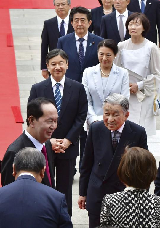 Điều đặc biệt khi Nhật hoàng chiêu đãi Chủ tịch nước Trần Đại Quang - Ảnh 3.