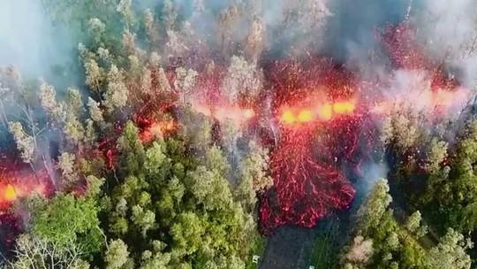 Tuyến lửa rợn người trên đảo Hawaii - Ảnh 7.