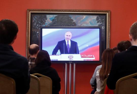 Ông Putin tuyên thệ nhậm chức tổng thống Nga lần 4 - Ảnh 1.