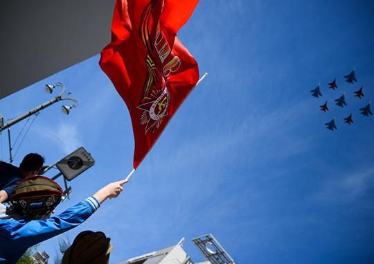 Nga diễu binh rầm rộ mừng ngày chiến thắng - Ảnh 2.