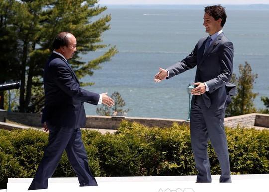 Thủ tướng lên tiếng tại G7: Biển Đông phải là vùng biển hòa bình - Ảnh 4.