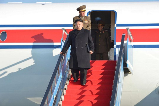 Chuyên cơ của ông Kim Jong-un biến mất khỏi radar khi vào Trung Quốc - Ảnh 2.