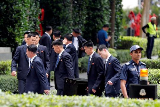 Phái đoàn Triều Tiên được thiết đãi nồng hậu tại Singapore - Ảnh 1.