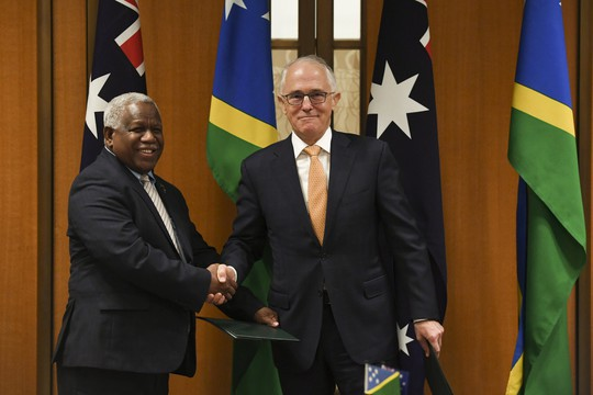 Úc cứng rắn với Trung Quốc - Ảnh 1.
