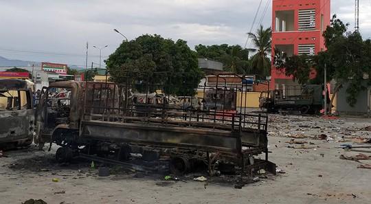 Khởi tố 36 bị can ở Bình Thuận, Ninh Thuận tham gia gây rối - Ảnh 1.