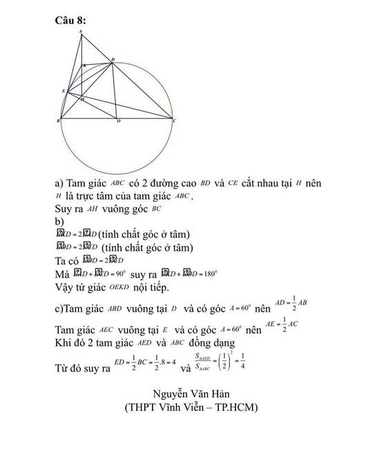 Gợi ý giải đề thi môn toán lớp 10 - Ảnh 4.