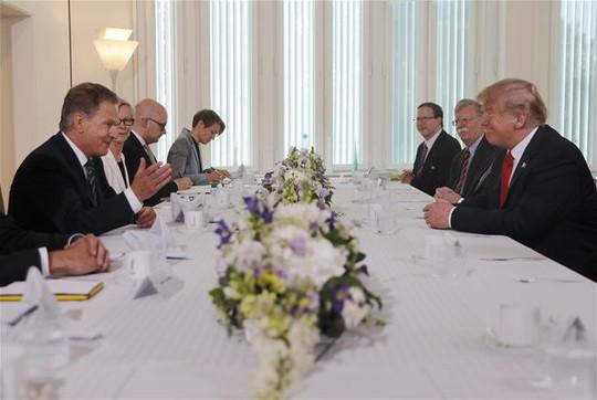 Thượng đỉnh Mỹ-Nga: Hai ông Trump - Putin bác chuyện Nga can thiệp bầu cử Mỹ - Ảnh 5.