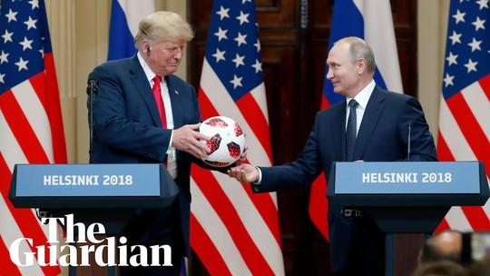 Ông Putin khen ngợi ông Trump - Ảnh 1.