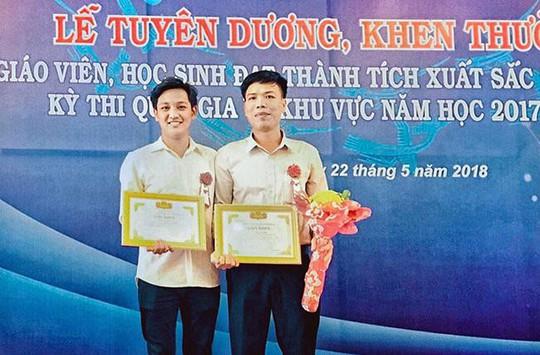 Học sinh giải Ba cấp quốc gia và Dự án Sản xuất Thực phẩm sạch cho người dân - Ảnh 1.