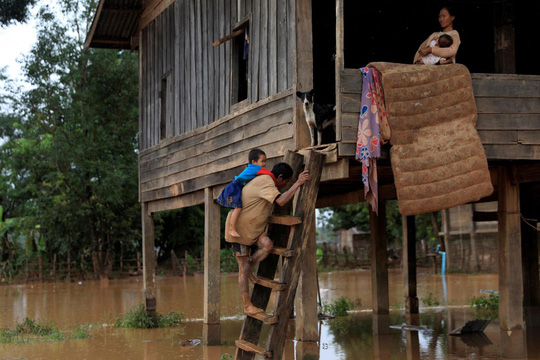 Vỡ đập thủy điện ở Lào: Không gì ngăn nổi lực nước, không đủ thời gian để chạy - Ảnh 4.
