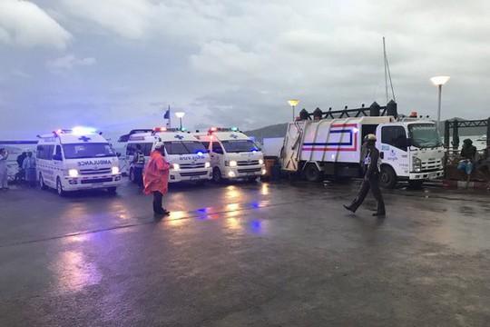 Thái Lan: 3 vụ lật tàu cùng ngày, 40 người thiệt mạng  - Ảnh 2.