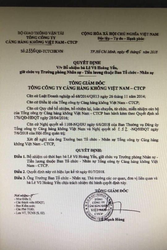 Chuyện khó tin: Tổng giám đốc ACV ký bổ nhiệm gần trăm cán bộ trước khi về hưu - Ảnh 3.