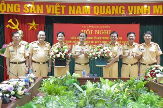 Phó tổng cục trưởng Tổng cục Hậu cần-Kỹ thuật làm tân Cục trưởng CSGT - Ảnh 1.
