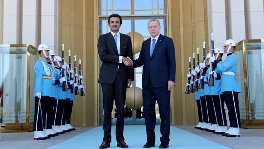Qatar trả ơn, cam kết đầu tư 15 tỉ USD vào Thổ Nhĩ Kỳ - Ảnh 1.