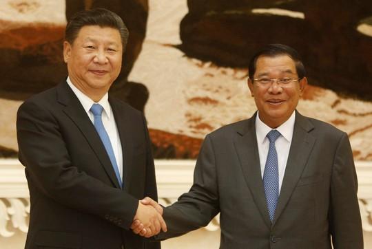 Ông Hun Sen cảm ơn Trung Quốc sau chiến thắng áp đảo - Ảnh 1.
