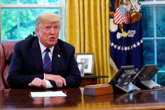 Ông Trump: Chưa phải lúc bàn với Trung Quốc về chiến tranh thương mại - Ảnh 1.