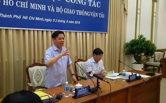 TP HCM đề nghị Bộ GTVT hỗ trợ đẩy nhanh các dự án liên kết vùng - Ảnh 1.