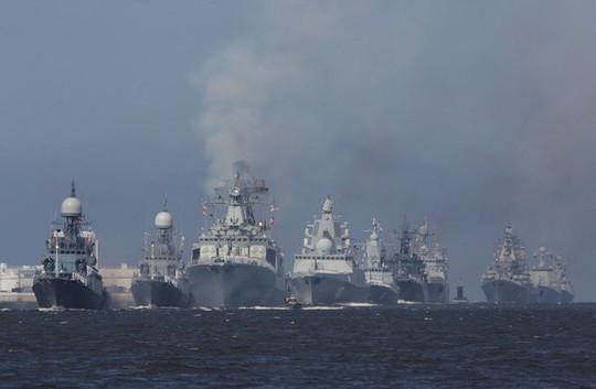 Căng thẳng ở Syria gia tăng, Nga tập trận lớn ở Địa Trung Hải - Ảnh 2.