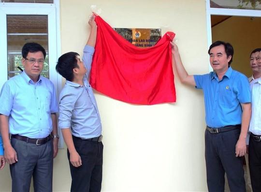 LĐLĐ tỉnh Quảng Bình: Xây nhà nội trú cho giáo viên vùng sâu - Ảnh 1.