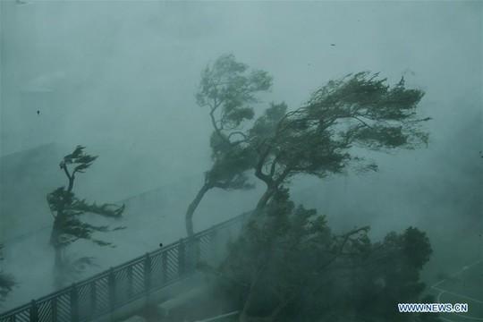 Trung Quốc chống chọi bão Mangkhut, 2 người thiệt mạng - Ảnh 7.