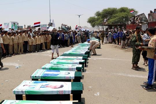 Ả Rập Saudi nhận sai vụ không kích xe buýt học sinh ở Yemen - Ảnh 1.