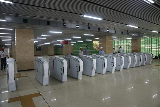 Cận cảnh lăn bánh chạy thử 5 đoàn tàu đường sắt trên cao Cát Linh-Hà Đông - Ảnh 5.