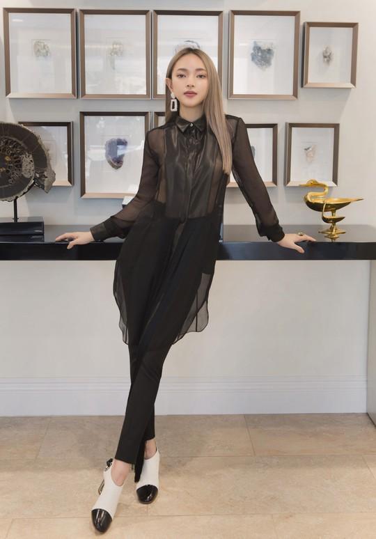 Qua tay Công Trí, fashionista 9X Châu Bùi càng lột xác - Ảnh 4.