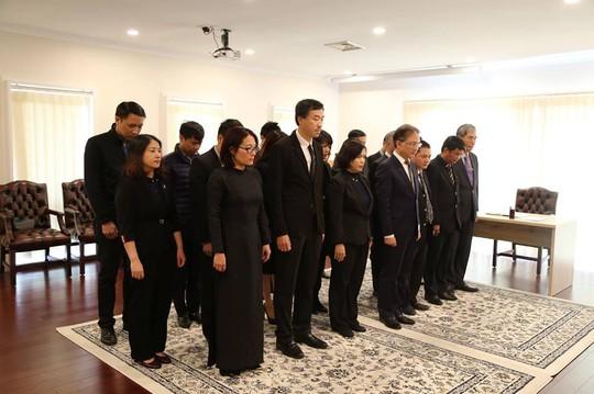 Lãnh đạo nước ngoài đến Đại sứ quán viếng Chủ tịch nước Trần Đại Quang - Ảnh 20.