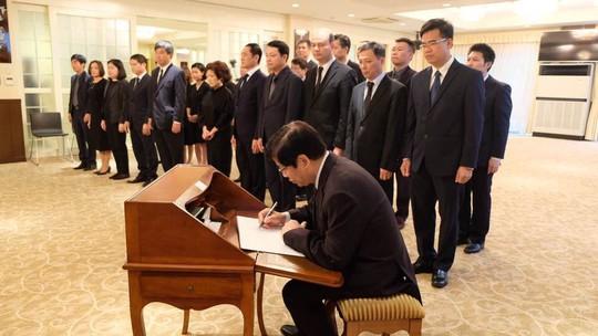 Lãnh đạo nước ngoài đến Đại sứ quán viếng Chủ tịch nước Trần Đại Quang - Ảnh 8.