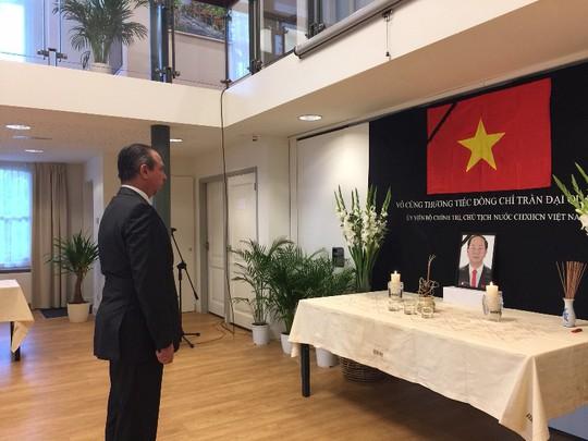 Lãnh đạo nước ngoài đến Đại sứ quán viếng Chủ tịch nước Trần Đại Quang - Ảnh 6.