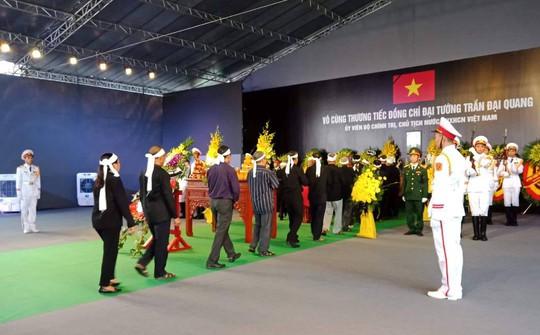 Chủ tịch nước Trần Đại Quang đã về với đất mẹ quê hương - Ảnh 5.