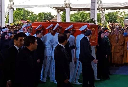 Chủ tịch nước Trần Đại Quang đã về với đất mẹ quê hương - Ảnh 3.