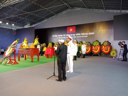 Chủ tịch nước Trần Đại Quang đã về với đất mẹ quê hương - Ảnh 7.