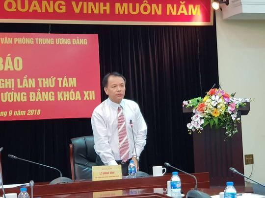 Hội nghị Trung ương 8 sẽ bàn kỷ luật nguyên ủy viên Trung ương về vụ AVG - Ảnh 1.