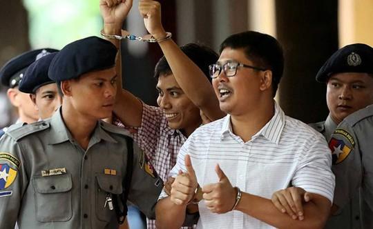 Hai phóng viên Reuters bị Myanmar kết án 7 năm tù - Ảnh 2.