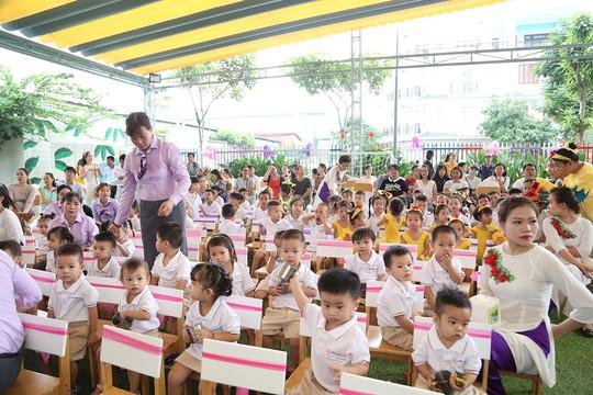 Khánh thành trường mầm non chuẩn quốc tế nhận trẻ từ 19 tháng tuổi - Ảnh 2.