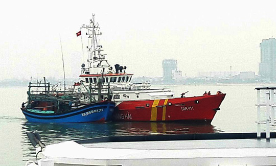 Khẩn cấp tìm kiếm tàu cá cùng 2 ngư dân Đà Nẵng mất tích - ảnh 1