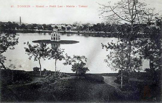 Thú vị diện mạo Hồ Gươm hơn 1 thế kỷ trước - Ảnh 1.